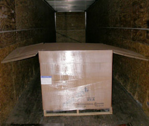 Single pack, pallet-sized, side-to-side Void Filler1